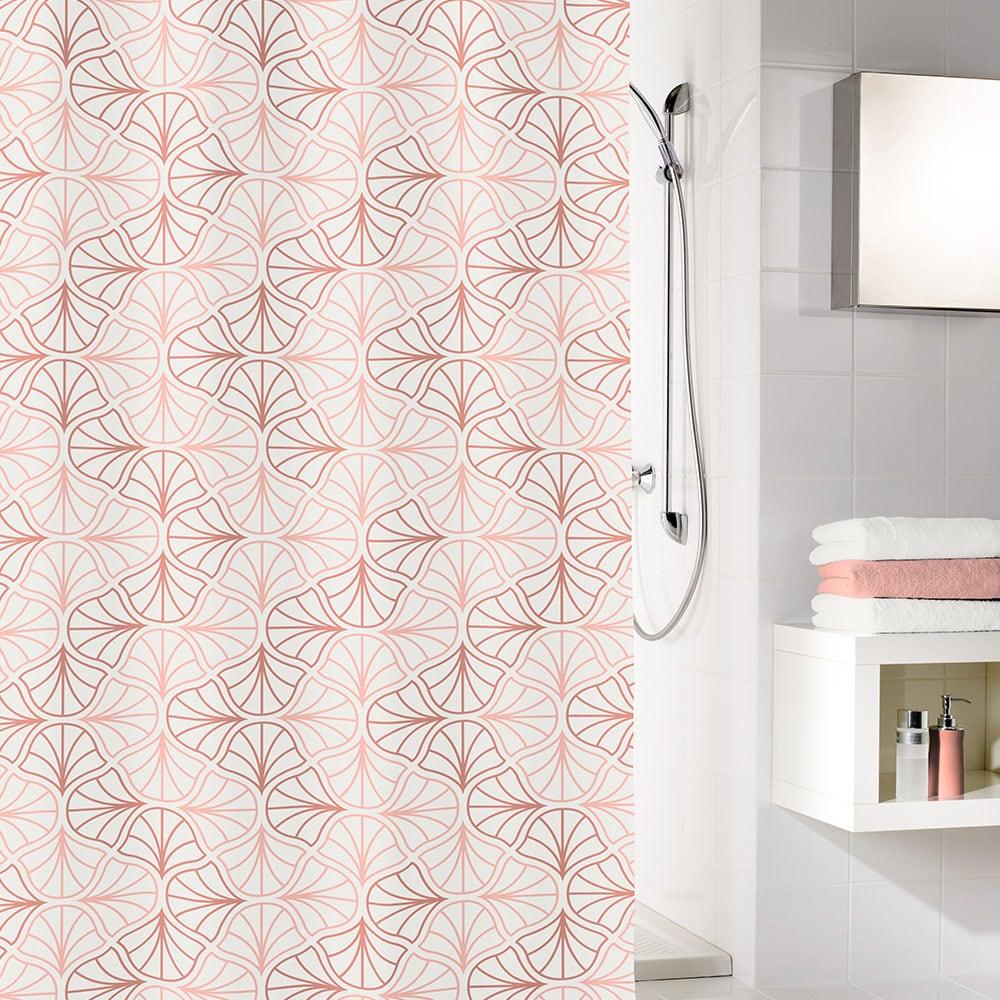 Κουρτίνα Μπάνιου Bloom 5945 Pearl Kleine Wolke Φάρδος 180cm 180x200cm