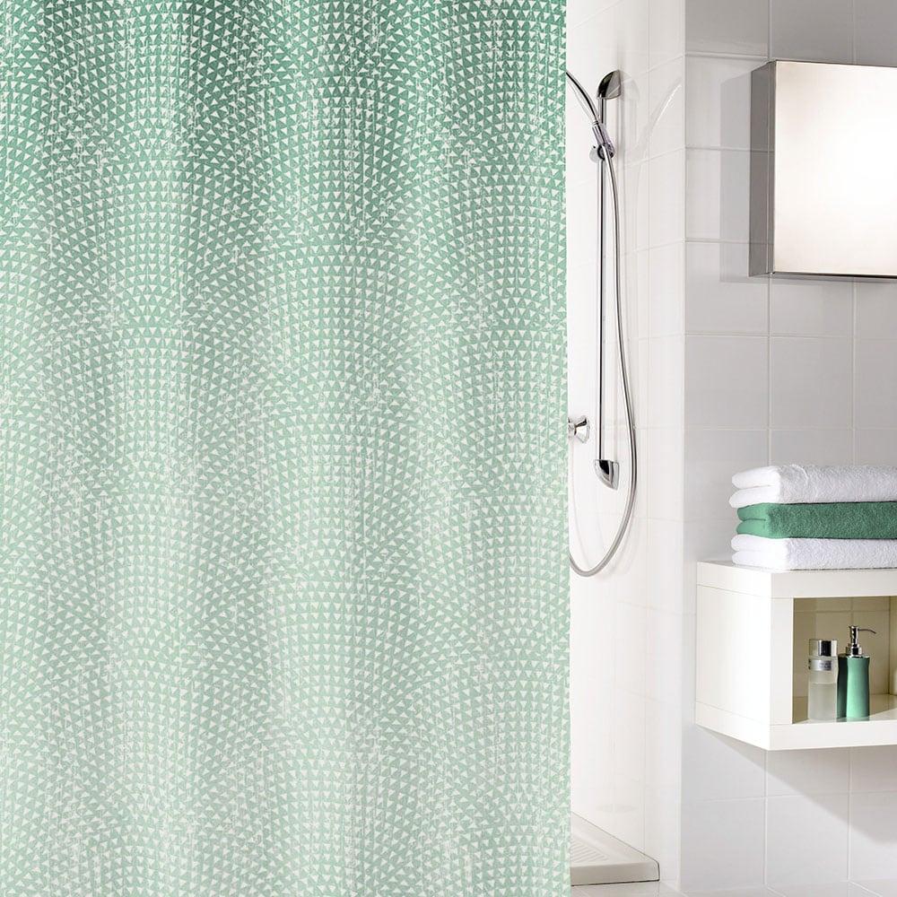 Κουρτίνα Μπάνιου Cascada 5919 Smaragd Kleine Wolke Φάρδος 180cm 180x200cm