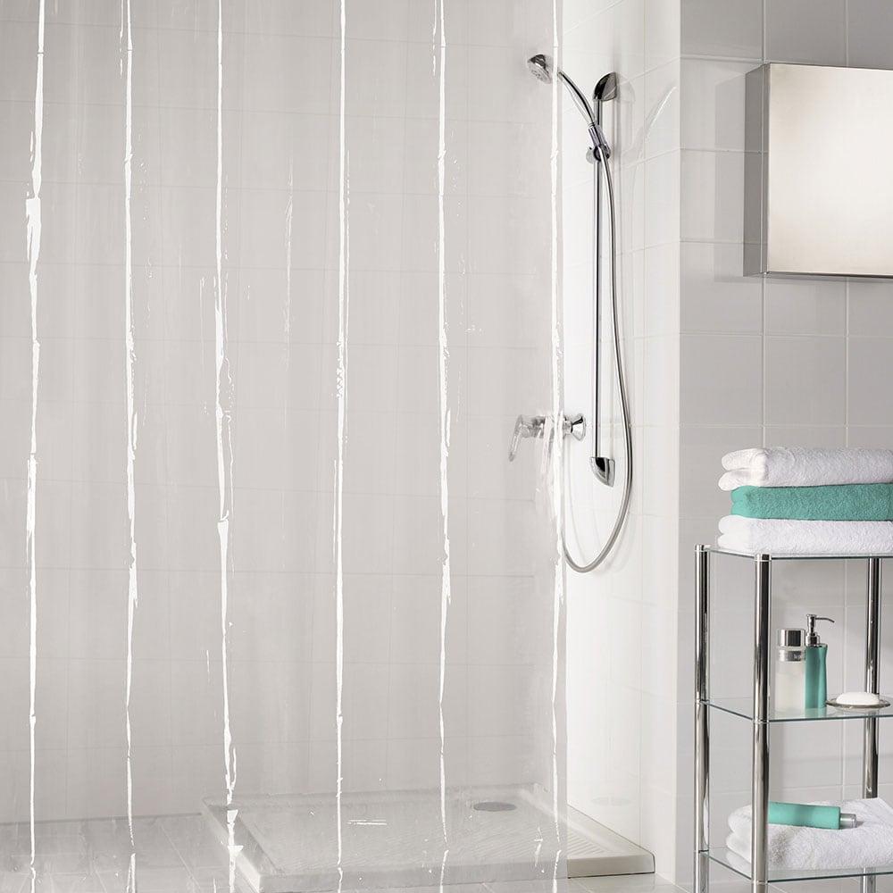 Κουρτίνα Μπάνιου Claro 5920 Clear Kleine Wolke Φάρδος 180cm 180x200cm
