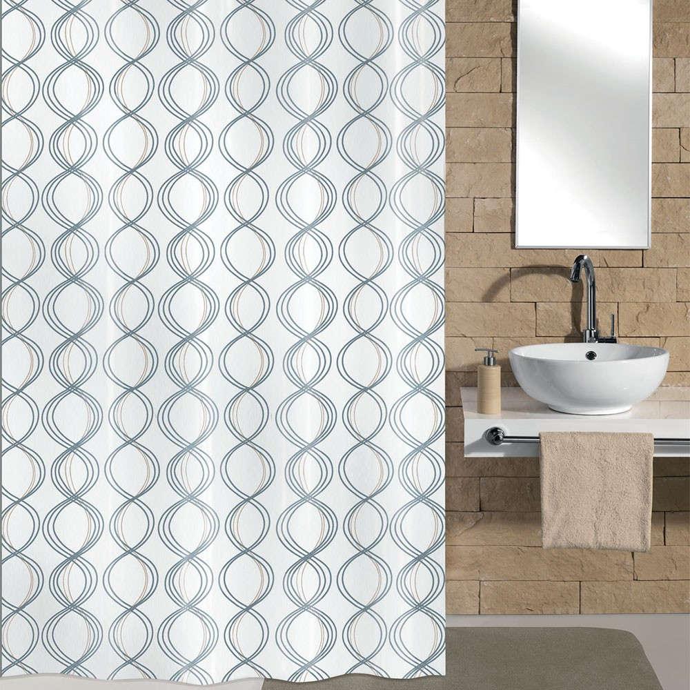 Κουρτίνα Μπάνιου Classy 5911 White Kleine Wolke Φάρδος 120cm