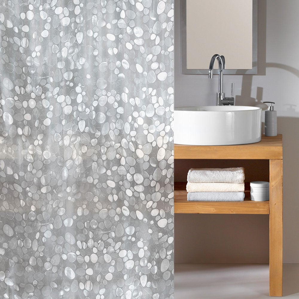 Κουρτίνα Μπάνιου Cristal 5174 Clear Kleine Wolke Φάρδος 180cm 180x200cm