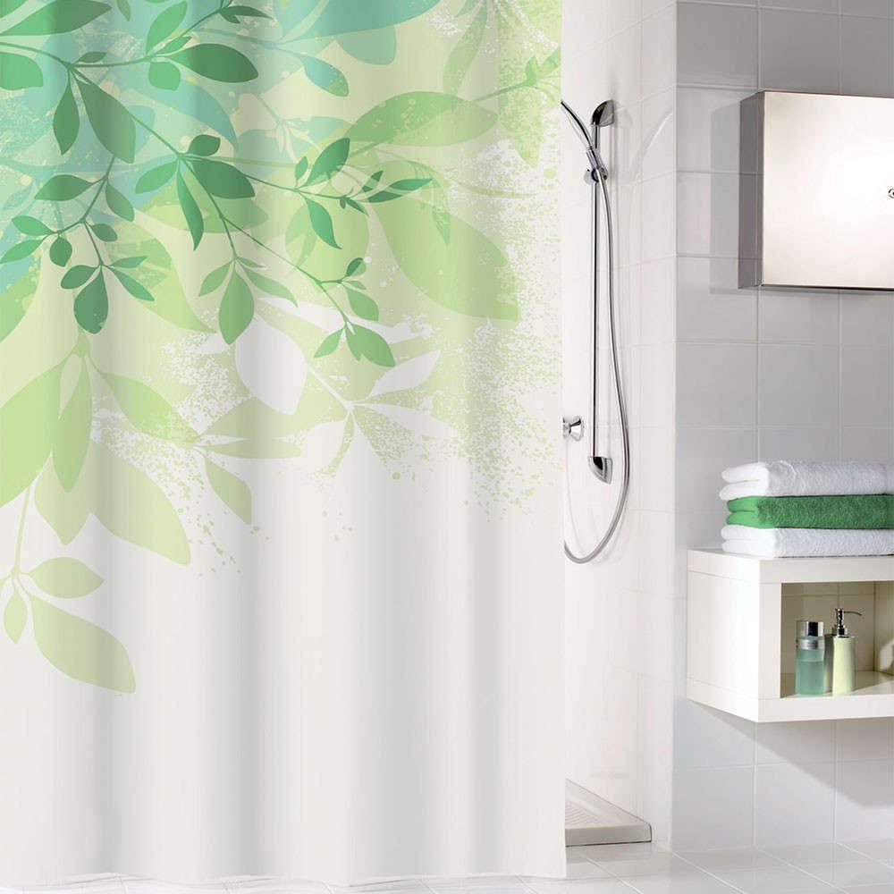 Κουρτίνα Μπάνιου Floresta 5912 Green Kleine Wolke Φάρδος 180cm