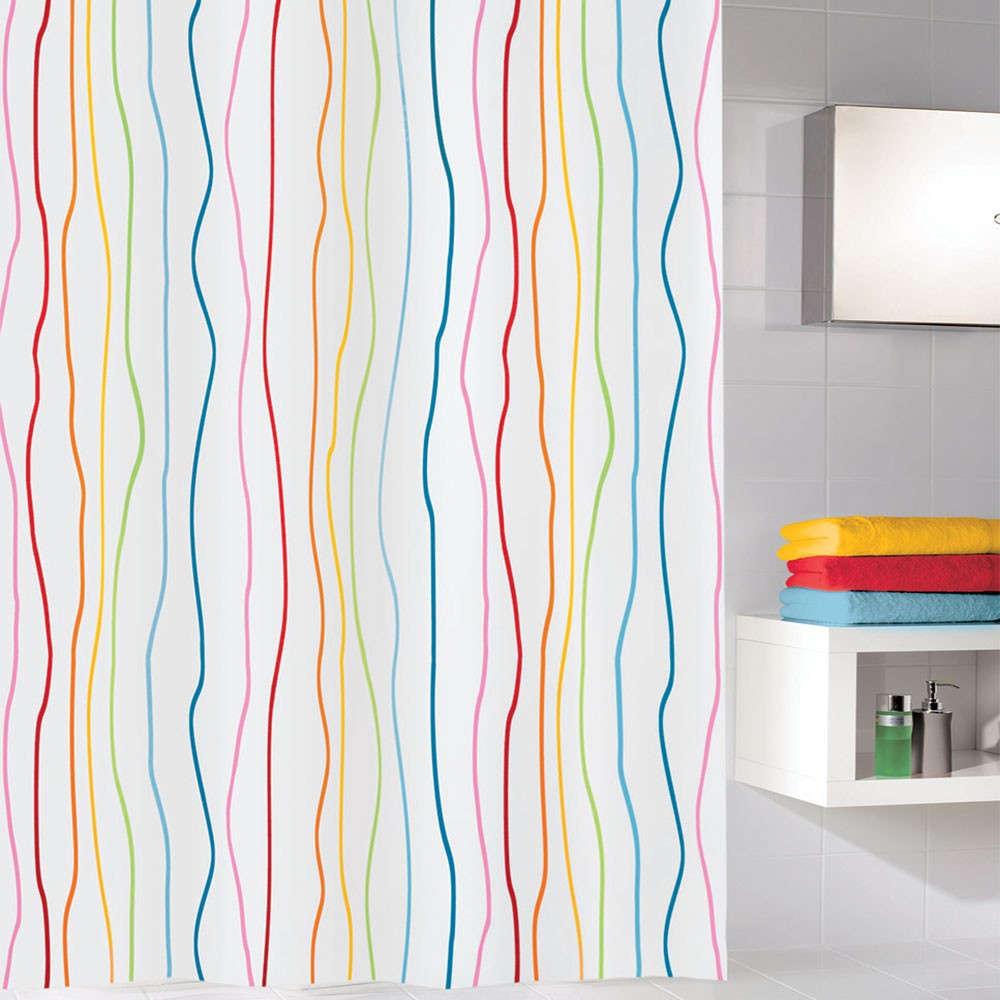 Κουρτίνα Μπάνιου Jolie 5194 Multicolor Kleine Wolke Φάρδος 240cm