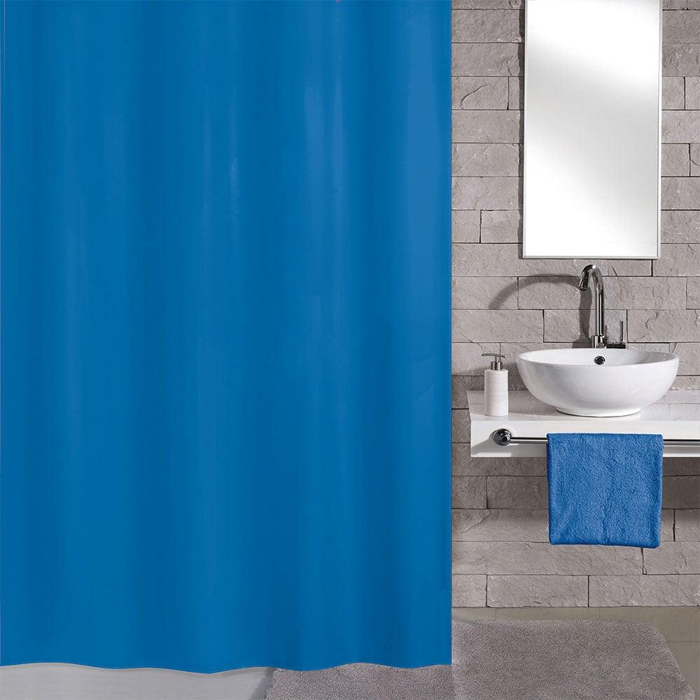 Κουρτίνα Μπάνιου Kito 4937 Azure Blue Kleine Wolke Φάρδος 240cm