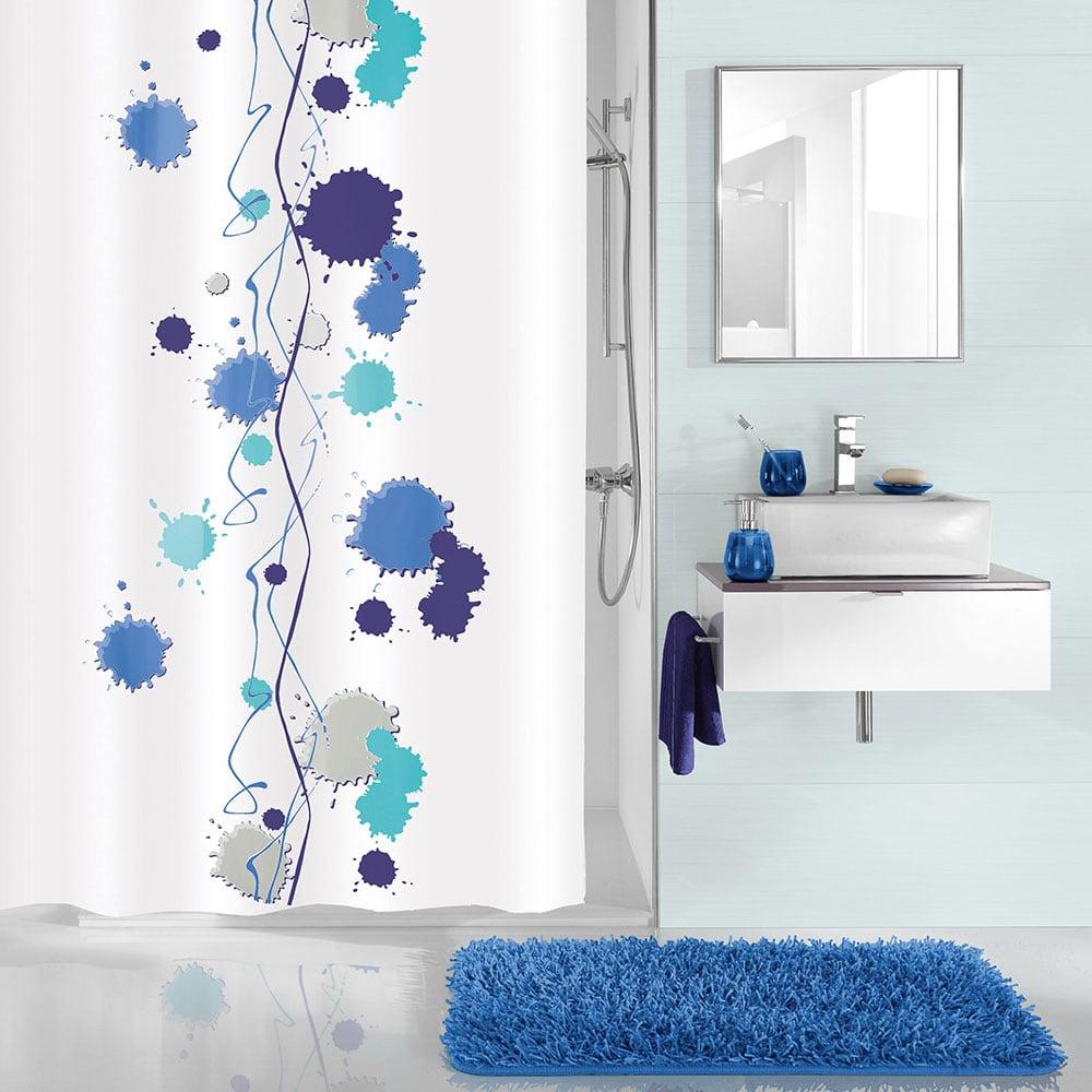 Κουρτίνα Μπάνιου Klexx5208 Royal Blue Kleine Wolke Φάρδος 180cm 180x200cm
