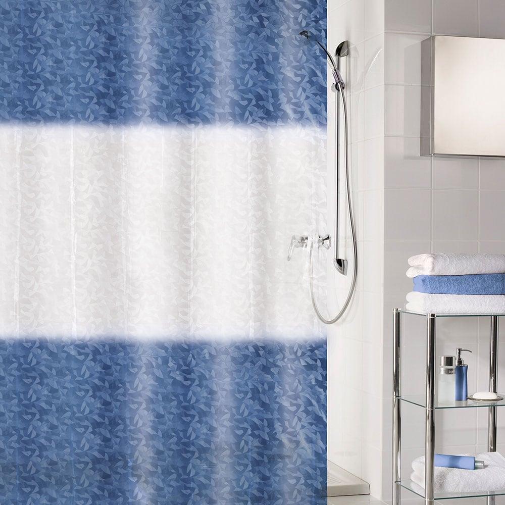Κουρτίνα Μπάνιου Ray 5917 Dark Blue Kleine Wolke Φάρδος 180cm