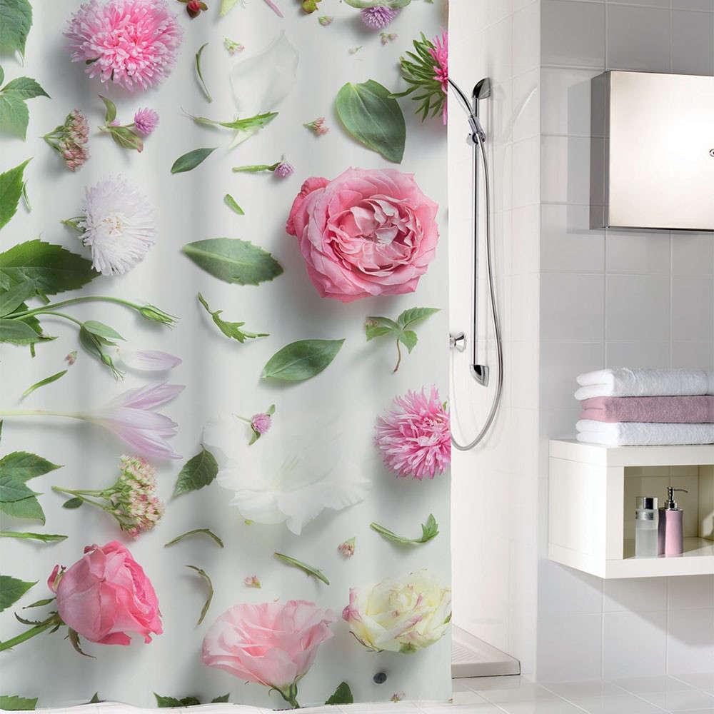 Κουρτίνα Μπάνιου Rosalie 5910 Multicolor Kleine Wolke Φάρδος 120cm