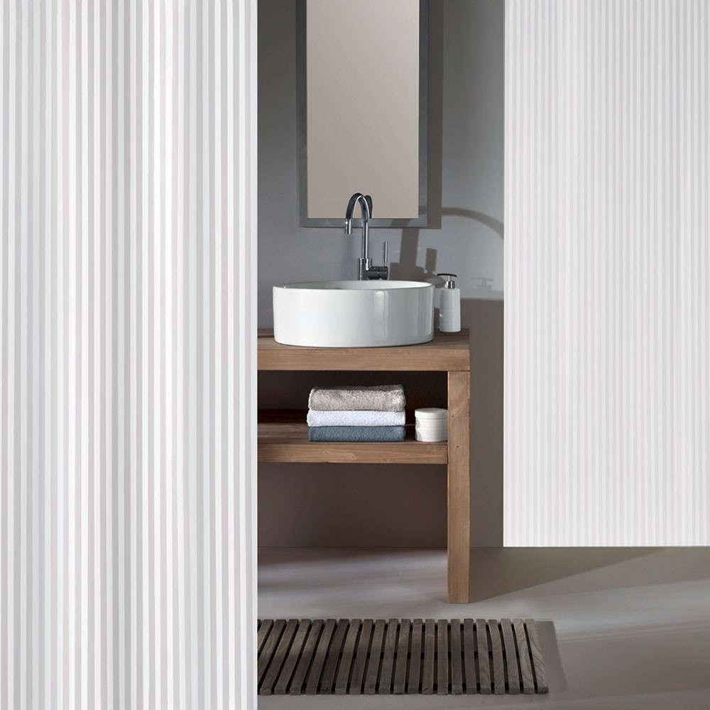 Κουρτίνα Μπάνιου Sanna 4935 White Kleine Wolke Φάρδος 240cm