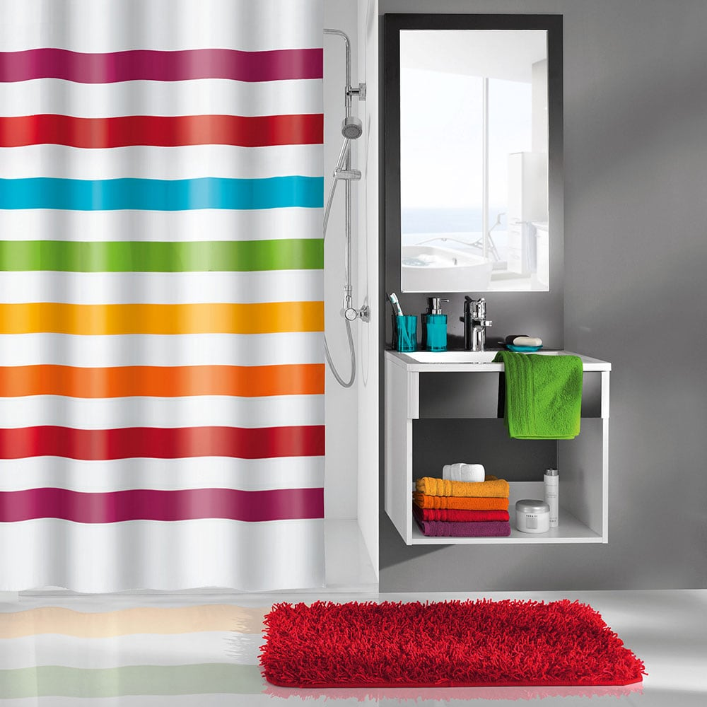 Κουρτίνα Μπάνιου Select 5255 Multicolor Kleine Wolke Φάρδος 180cm 180x200cm