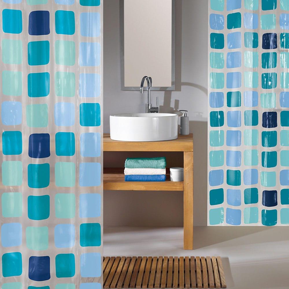 Κουρτίνα Μπάνιου Sonny 4956 Blue Kleine Wolke Φάρδος 180cm 180x200cm