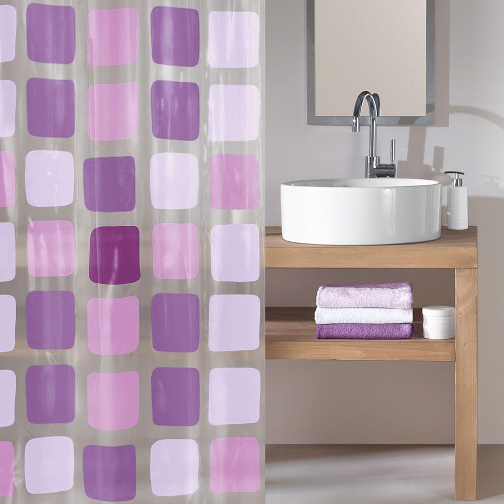 Κουρτίνα Μπάνιου Sonny 4956 Violett Kleine Wolke Φάρδος 180cm