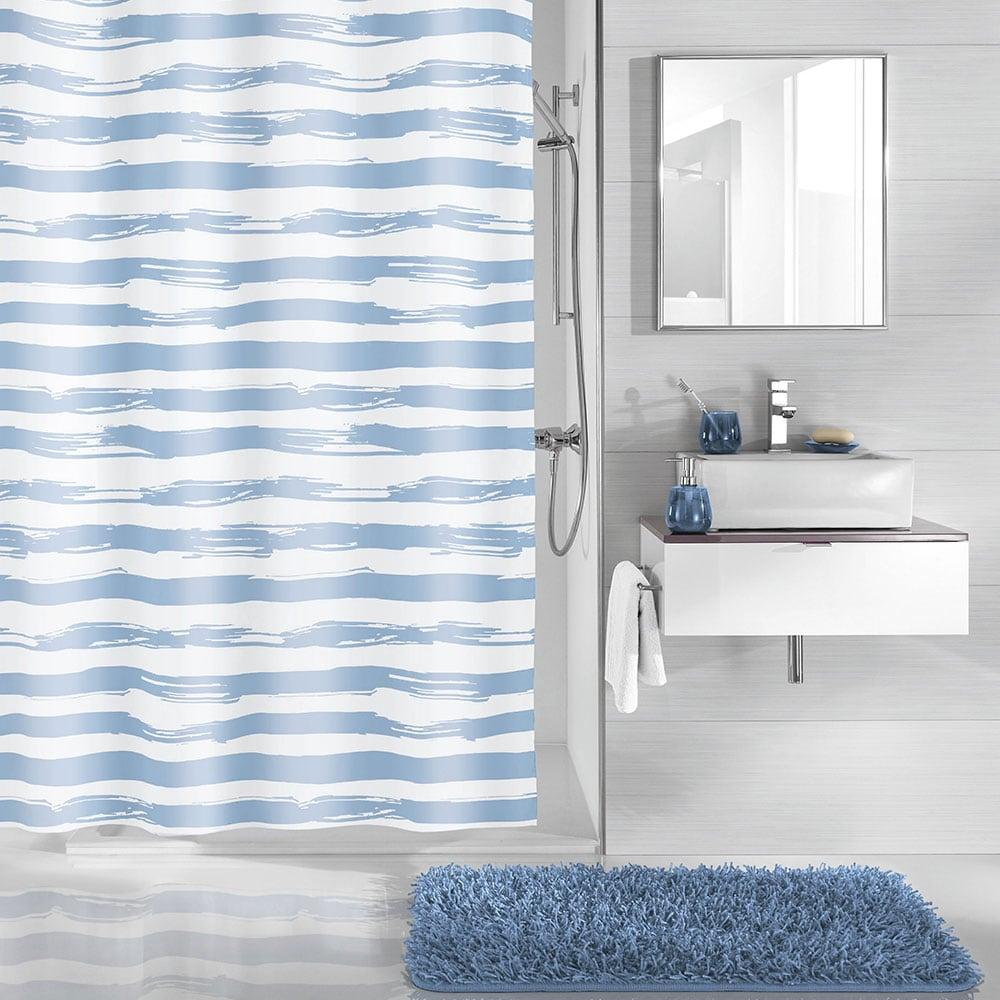 Κουρτίνα Μπάνιου Stripy 5289 Ice Blue Kleine Wolke Φάρδος 180cm 180x200cm