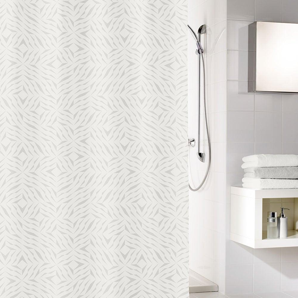Κουρτίνα Μπάνιου Style 5939 Silver Grey Kleine Wolke Φάρδος 180cm