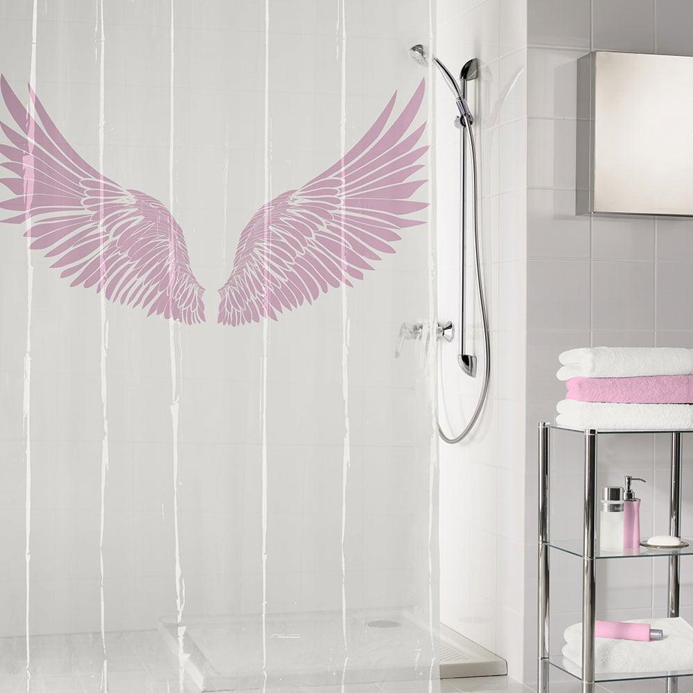 Κουρτίνα Μπάνιου Wings 5942 Flamingo Kleine Wolke Φάρδος 180cm