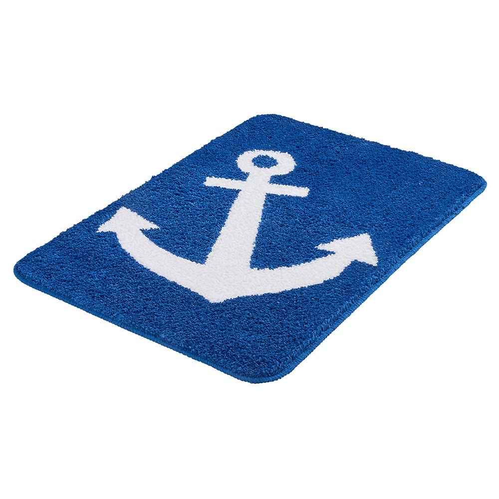 Πατάκι Μπάνιου Anchor 4096 Royal Blue Kleine Wolke Large