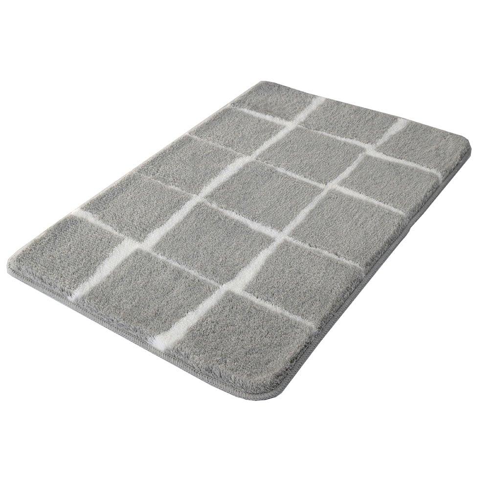Πατάκι Μπάνιου Carat 9106 Foggy Grey Kleine Wolke Large 60x90cm