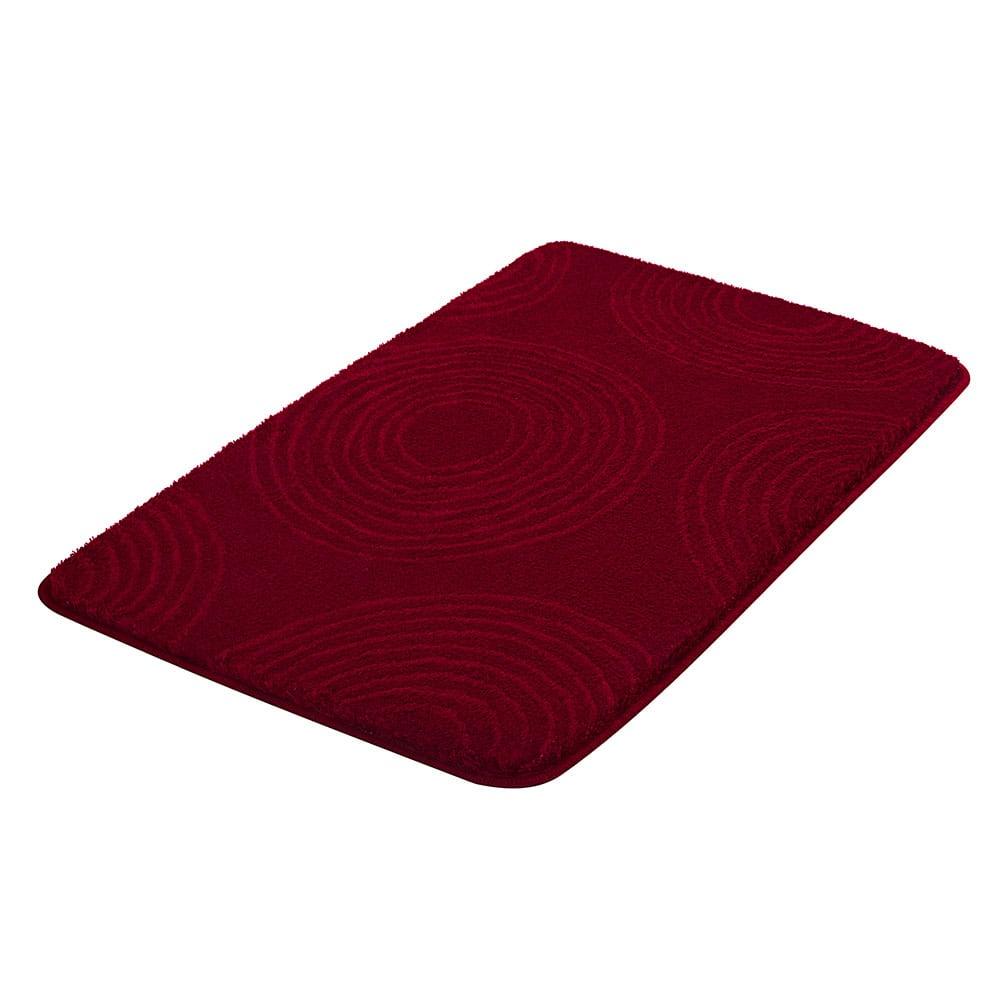 Πατάκι Μπάνιου Cosima 9103 Garnet Red Kleine Wolke Medium 60x90cm