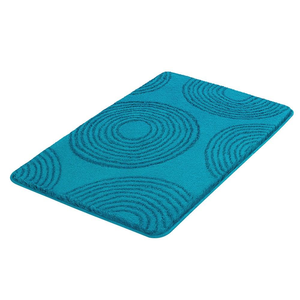 Πατάκι Μπάνιου Cosima 9103 Turquoise Kleine Wolke Medium 60x90cm