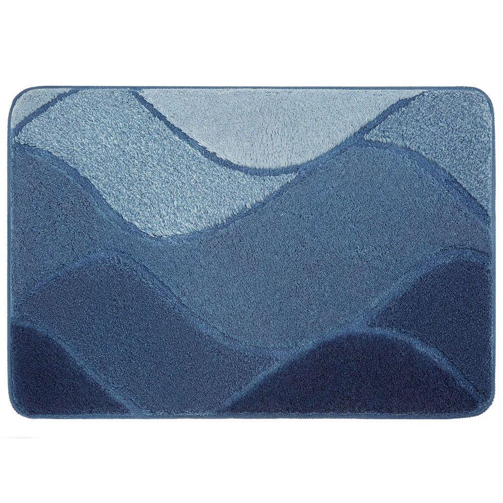 Πατάκι Μπάνιου Fiona 9128 IceBlue Kleine Wolke Medium