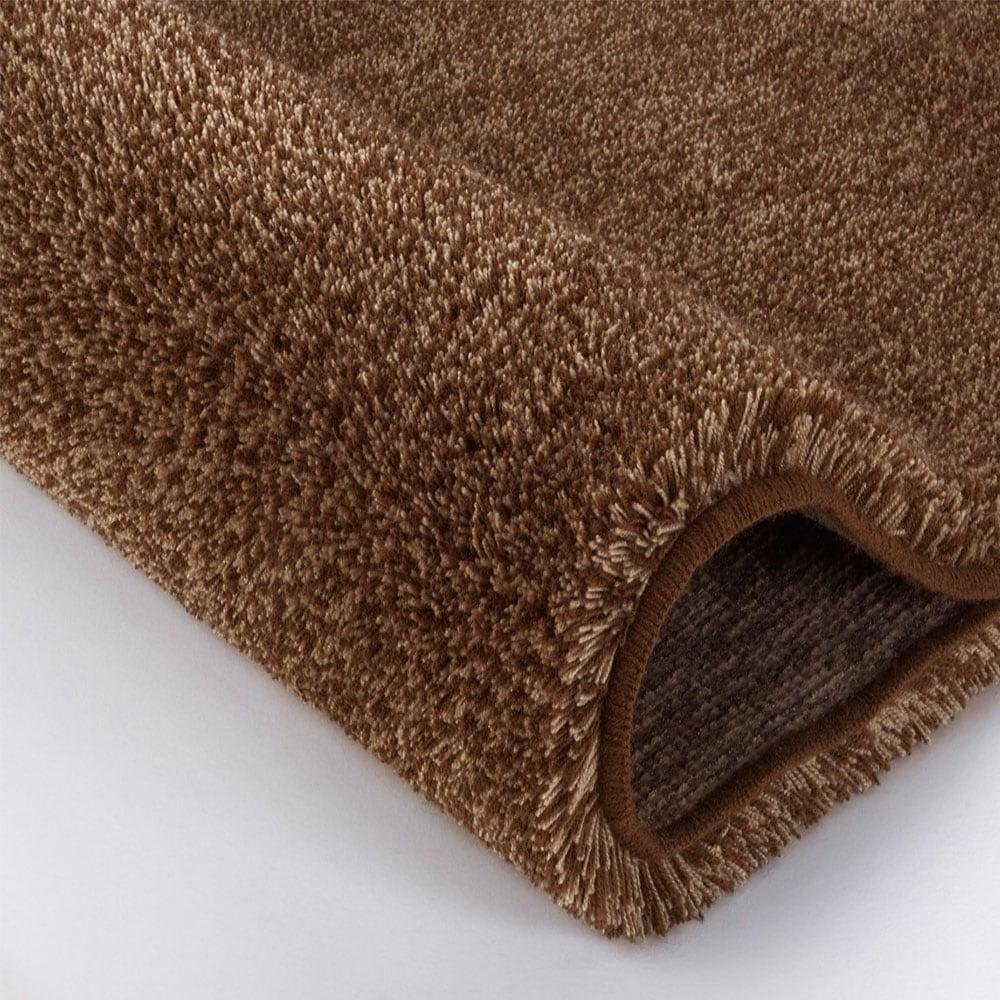 Πατάκι Μπάνιου Relax 5405 Round Dark Brown Kleine Wolke Large