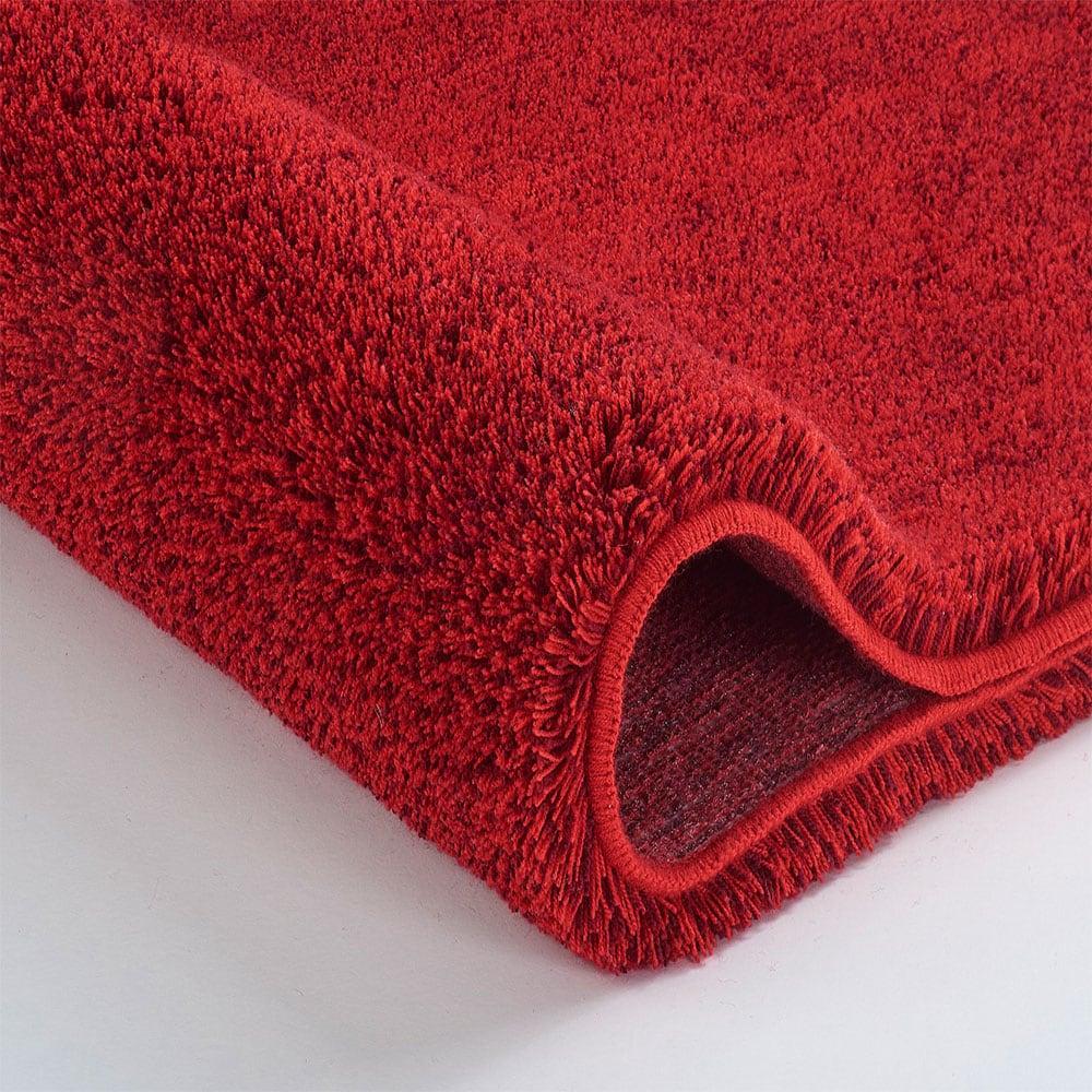 Πατάκι Μπάνιου Relax 5405 Round Ruby Red Kleine Wolke Medium