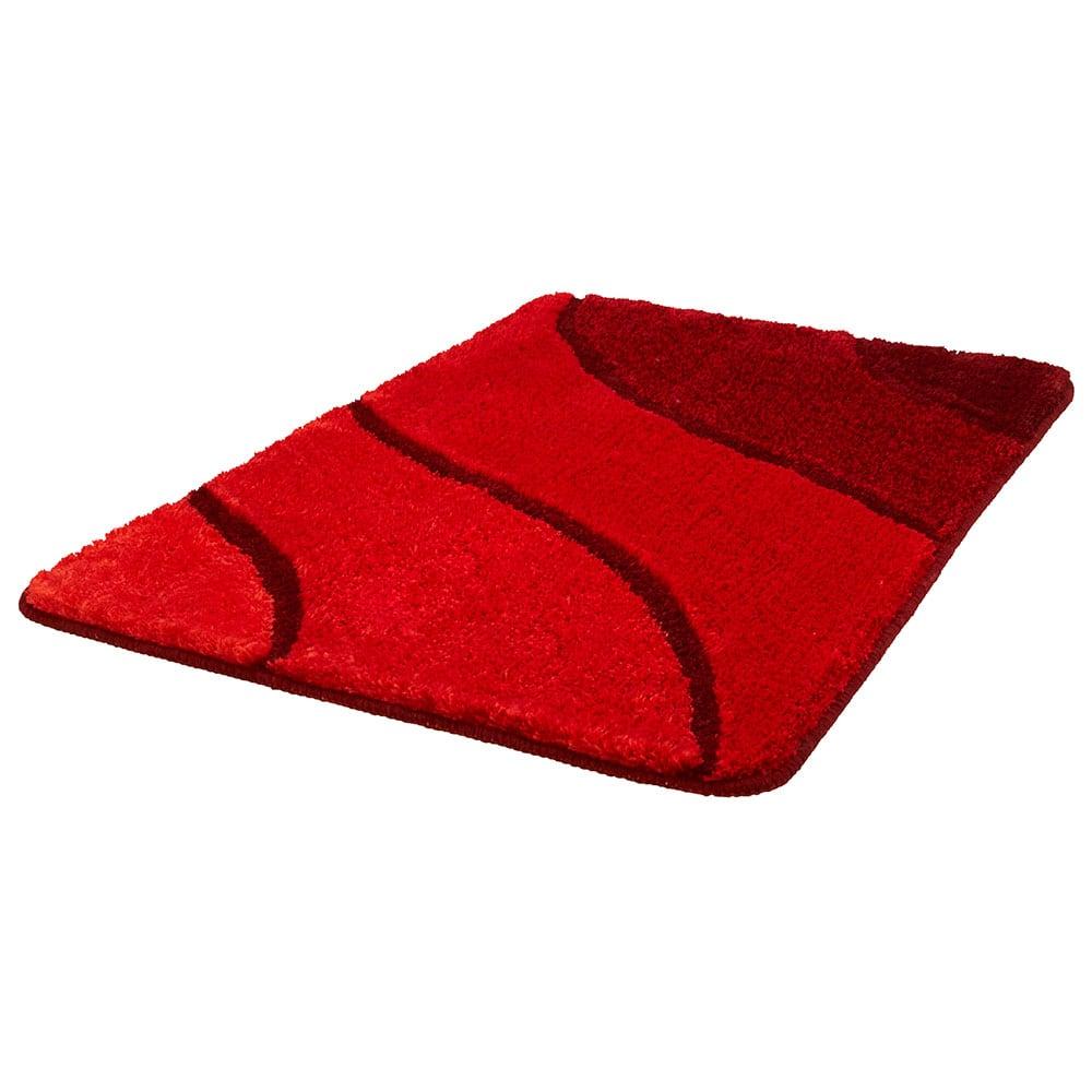 Πατάκι Μπάνιου Wave 5507 Ruby Red Kleine Wolke Small