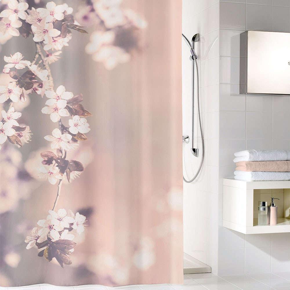 Κουρτίνα Μπάνιου Blossom 5956 Clove Kleine Wolke Φάρδος 120cm