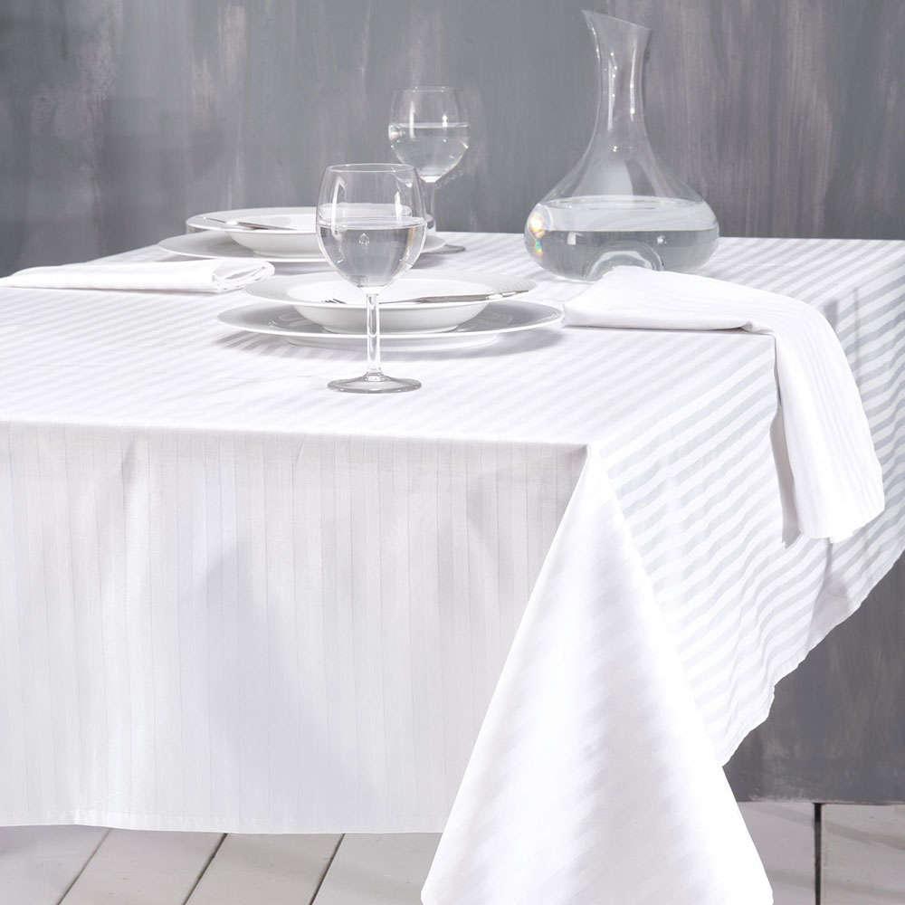 Πετσέτα Φαγητου Σατέν Stripes White Ρυθμός 50x70cm