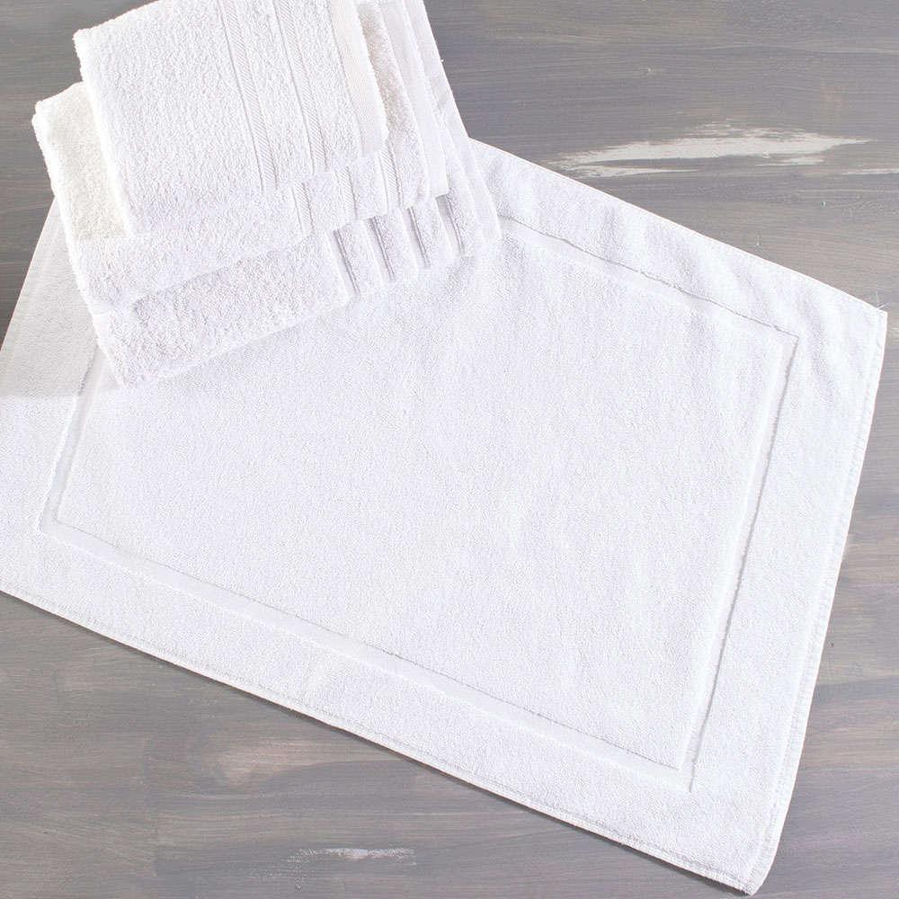 Τάπετο Μπάνιου 1 White Ρυθμός Medium 50x70cm