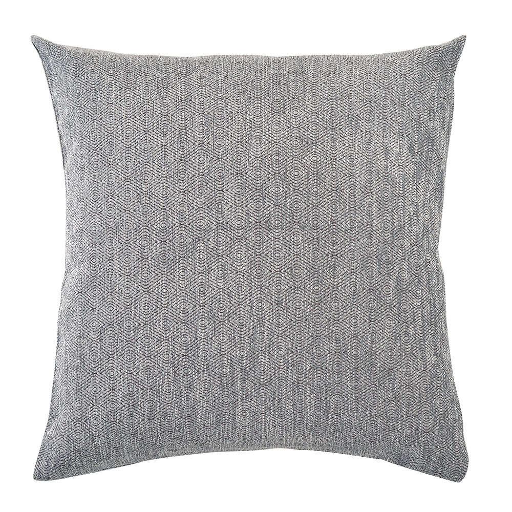 Μαξιλαροθήκη Διακοσμητική Mandala 06 Light Grey Ρυθμός 45X45 Chenille-Polyester