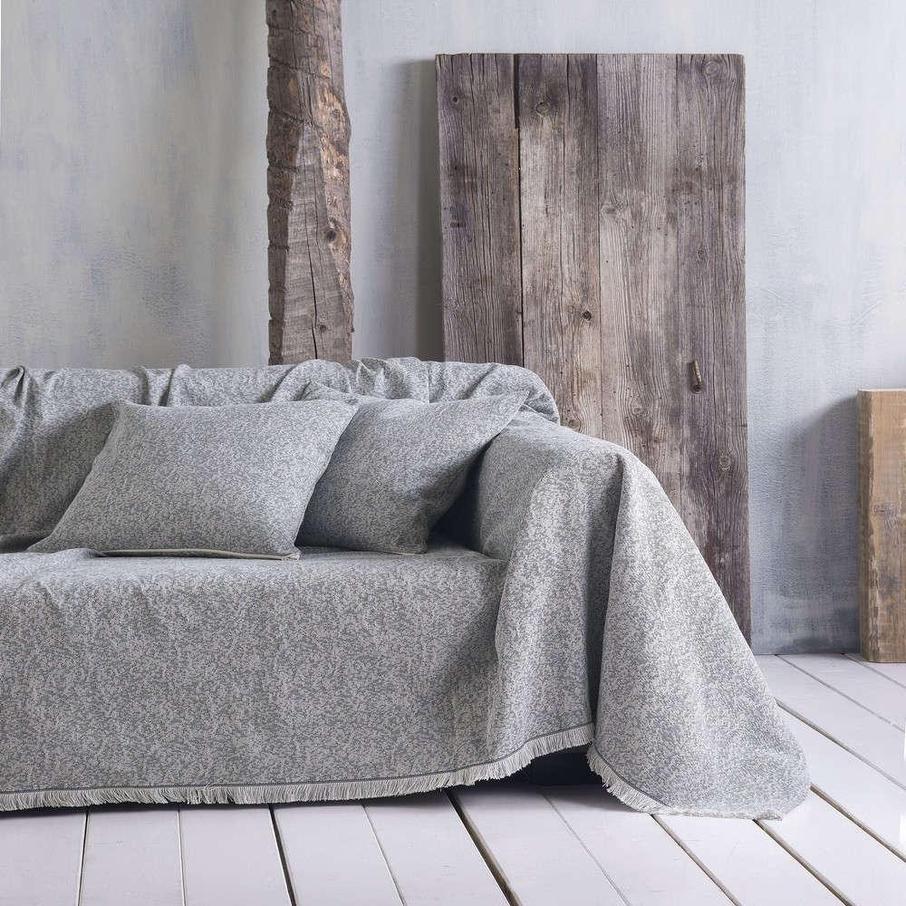 Μαξιλαροθήκη Διακοσμητική Luella 01 Grey Ρυθμός 40Χ40 Βαμβάκι-Polyester