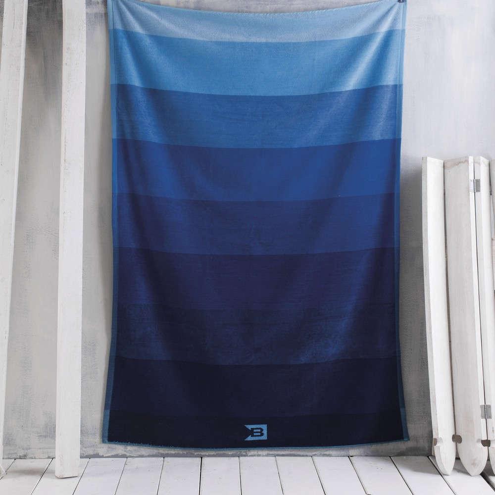 Πετσέτα Θαλάσσης Paradiso Blue Ρυθμός Θαλάσσης 100x180cm
