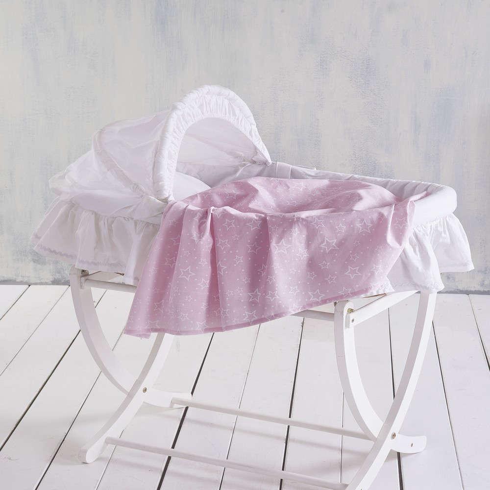 Σεντόνι Βρεφικό Bright Baby Pink Ρυθμός Λίκνου 80x110cm
