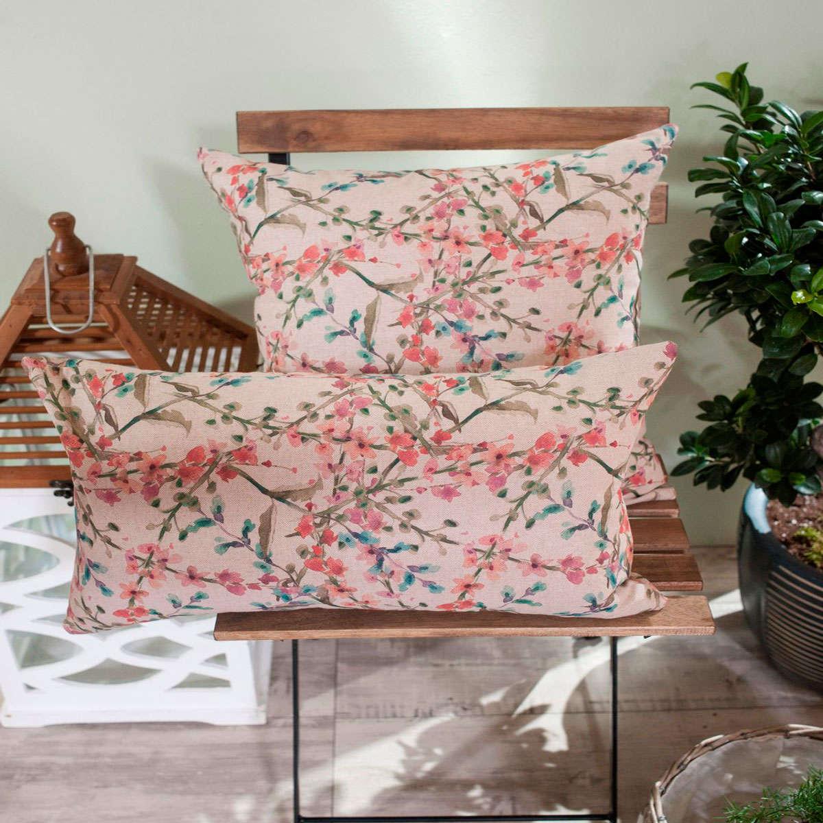 Μαξιλαροθήκη Διακοσμητική Rimini Teoran 45X45 Βαμβάκι-Polyester