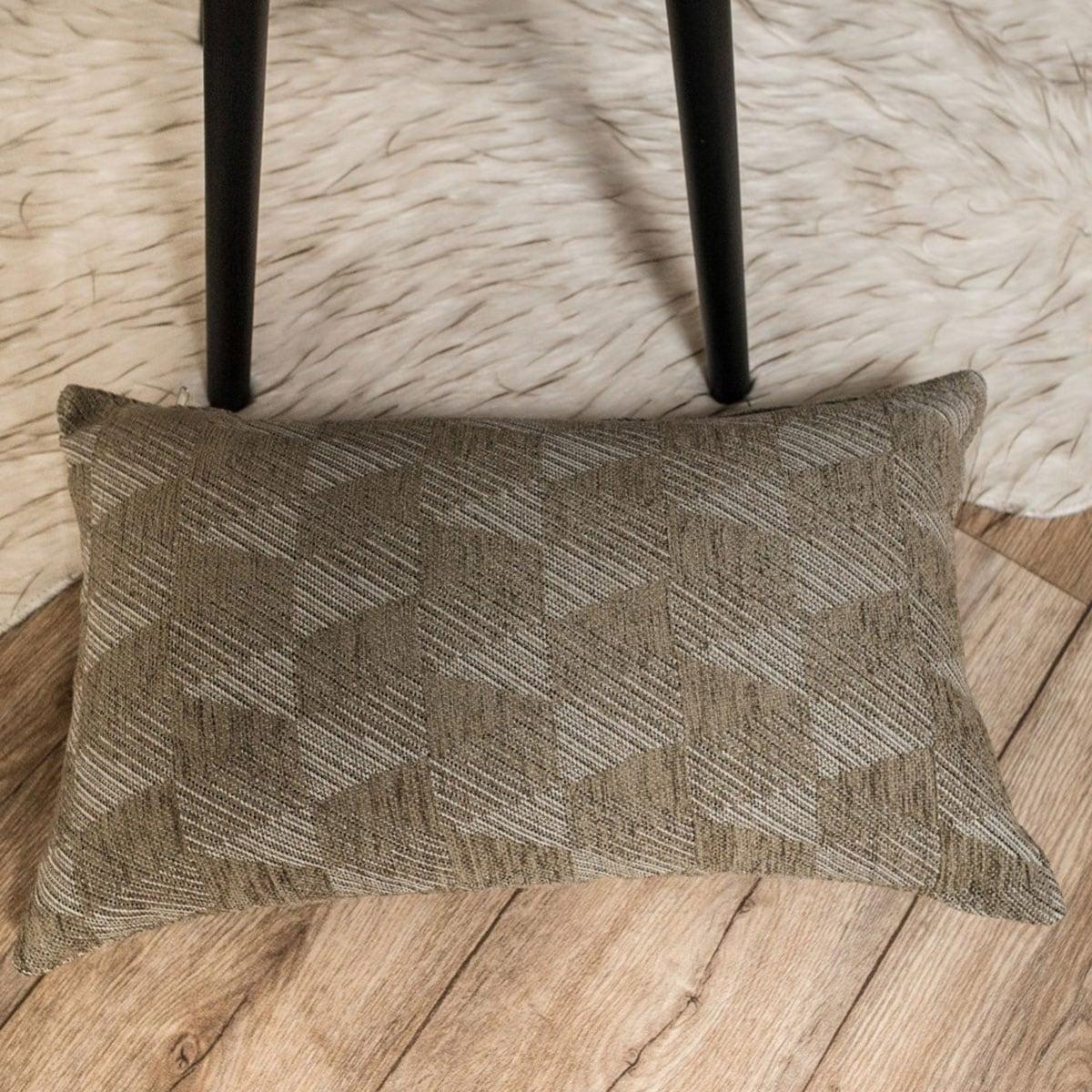 Μαξιλάρι Διακοσμητικό (Με Γέμιση) Memphis 03 Elephant Teoran 30Χ50 Ακρυλικό-Polyester