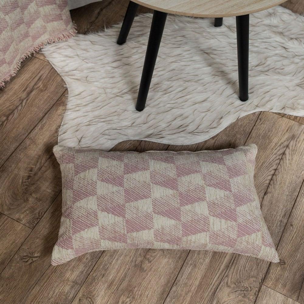 Μαξιλαροθήκη Διακοσμητική Memphis 12 Rose Teoran 30Χ50 Ακρυλικό-Polyester
