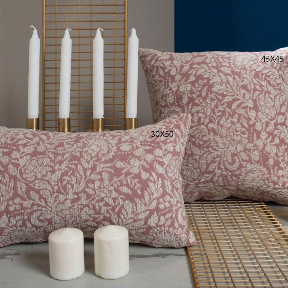 Μαξιλαροθήκη Διακοσμητική Virginia 12 Rose Teoran 30Χ50 Ακρυλικό-Polyester