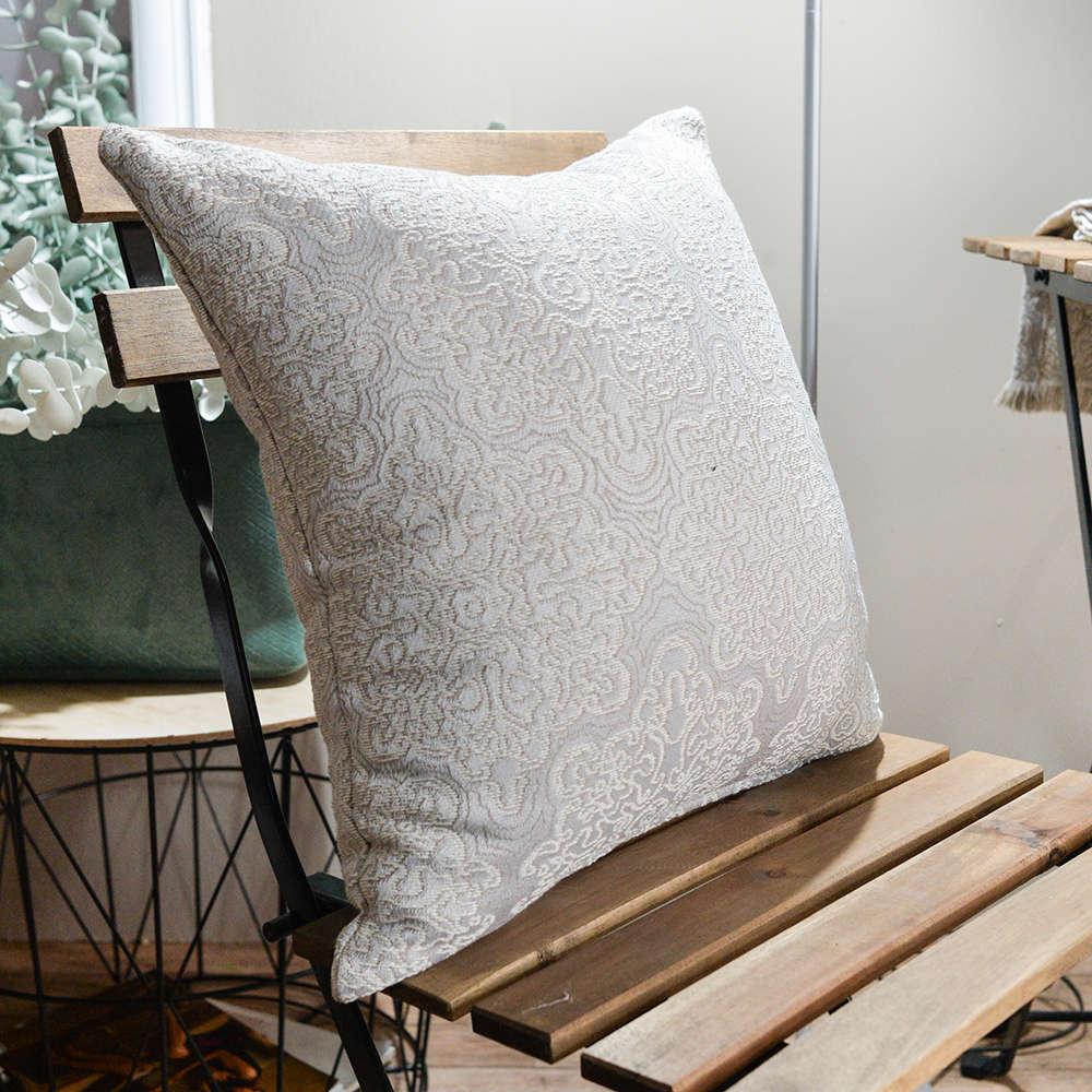 Μαξιλάρι Διακοσμητικό Δαπέδου (Με Γέμιση) Perugia 03 Elephant Teoran 60X60 Βαμβάκι-Polyester