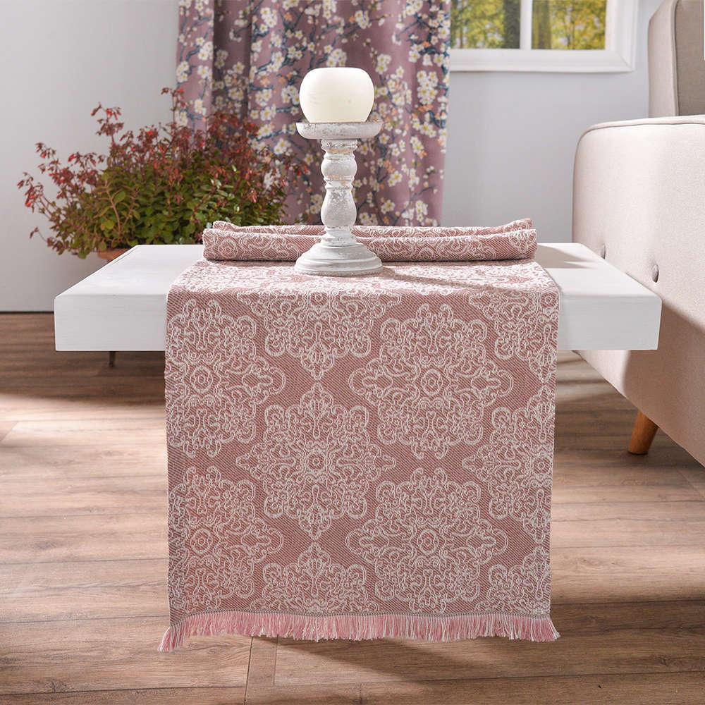 Τραβέρσα Perugia 06 Pink Teoran 50Χ200 45x180cm