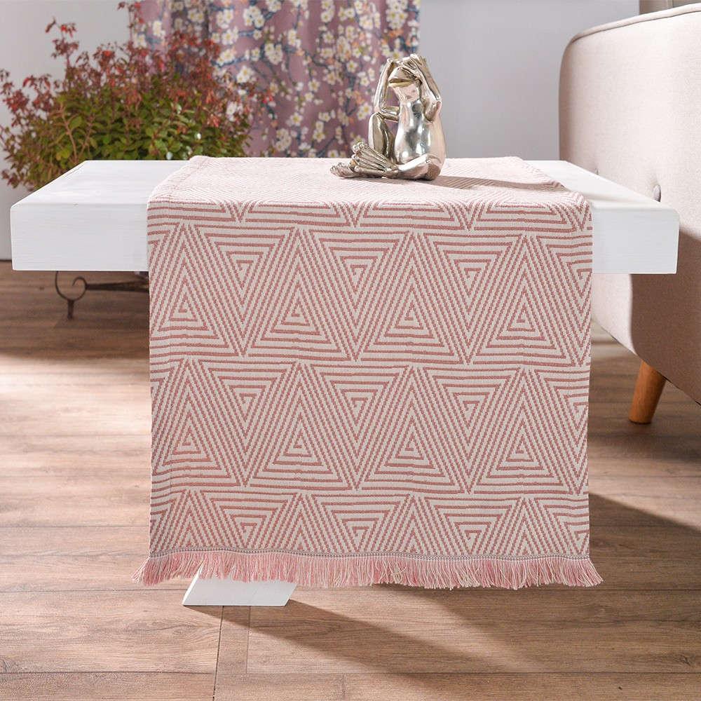 Τραβέρσα Como 06 Pink Teoran 50Χ200 45x180cm