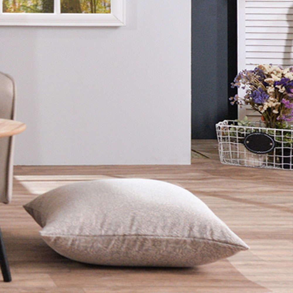 Μαξιλαροθήκη Διακοσμητική Δαπέδου Macerata 11 Brown Teoran 60X60 Βαμβάκι-Polyester