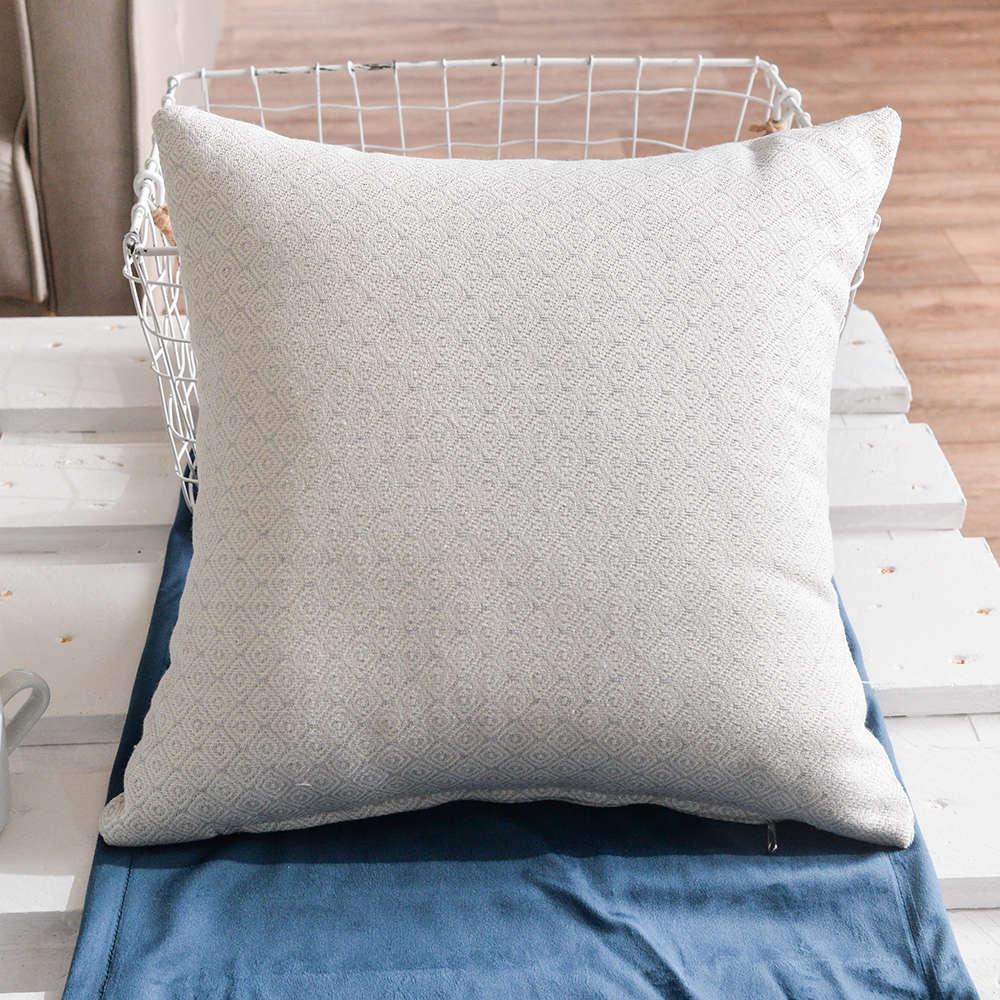 Μαξιλάρι Διακοσμητικό (Με Γέμιση) Pescara 04 Grey Teoran 45X45 Βαμβάκι-Polyester