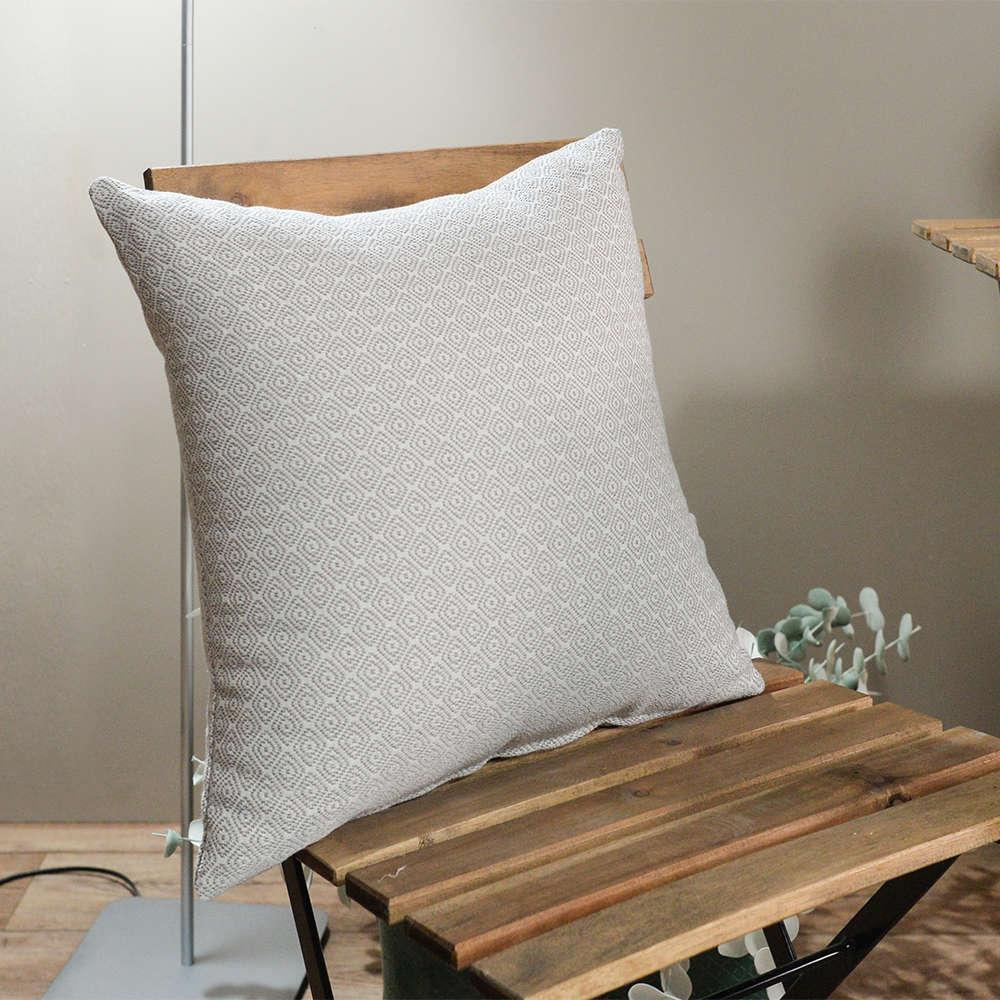 Μαξιλάρι Διακοσμητικό (Με Γέμιση) Pescara 02 Beige Teoran 60X60 Βαμβάκι-Polyester