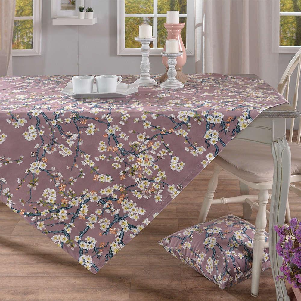 Μαξιλαροθήκη Διακοσμητική Δαπέδου Fuerte 12 Lila Teoran 60X60 Ακρυλικό-polyester