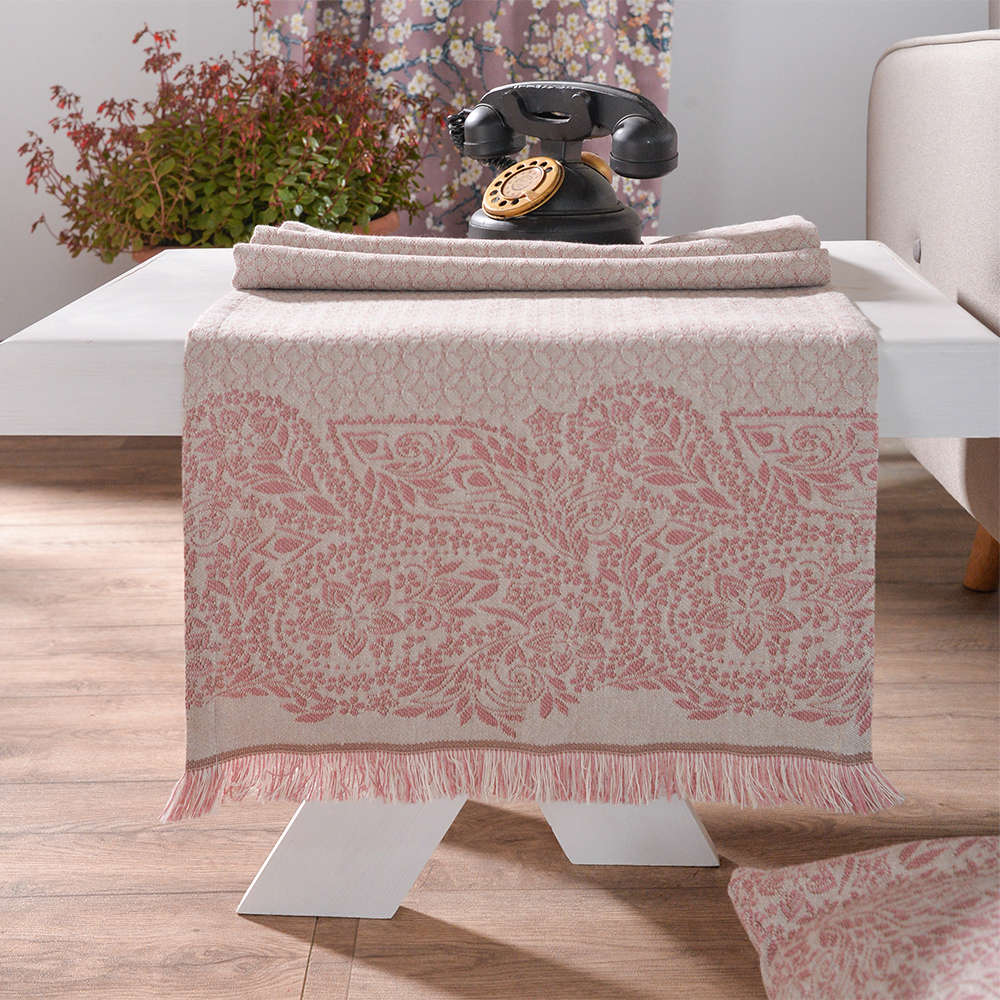 Τραβέρσα Με Φάσα Macerata 06 Pink Teoran 50Χ200 45x180cm