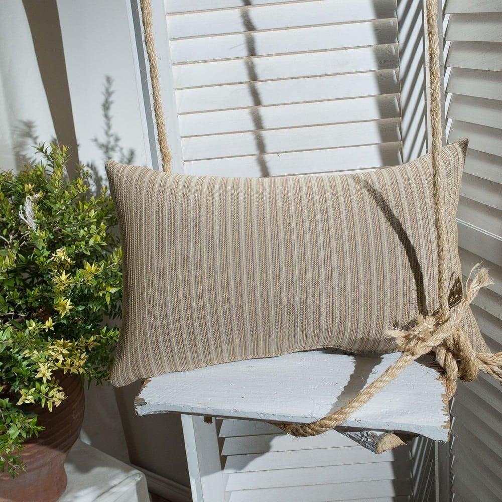 Μαξιλάρι Διακοσμητικό (Με Γέμιση) Capri 14 Yellow Teoran 30Χ50 Βαμβάκι-Polyester