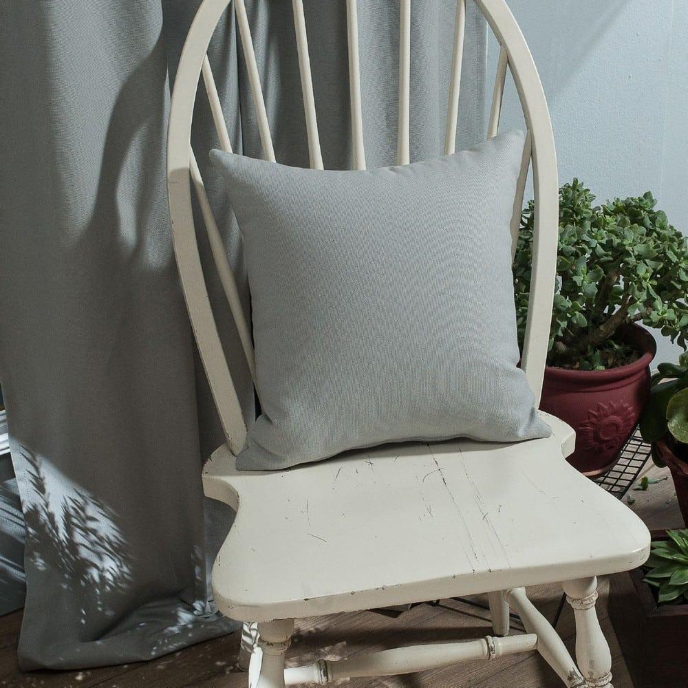 Μαξιλάρι Διακοσμητικό (Με Γέμιση) Chroma 04 Grey Teoran 45X45 Βαμβάκι-Polyester