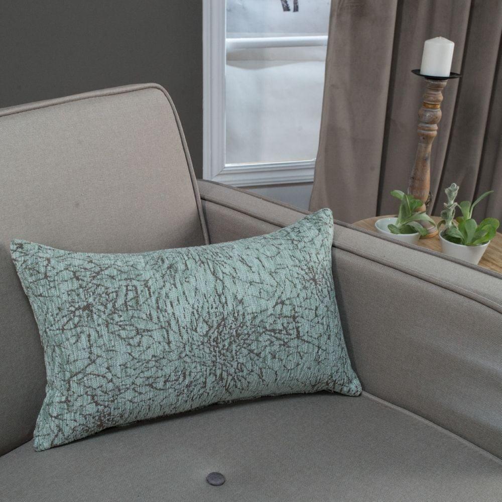 Μαξιλάρι Διακοσμητικό (Με Γέμιση) Dallas 13 Ciel Teoran 30Χ50 Ακρυλικό-Polyester