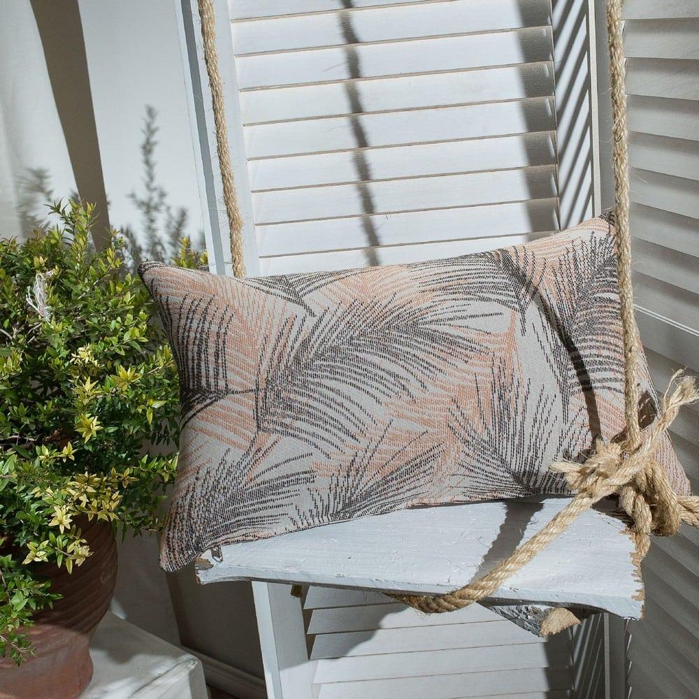 Μαξιλάρι Διακοσμητικό (Με Γέμιση) Toscana 15 Terracotta Teoran 30Χ50 Βαμβάκι-Polyester