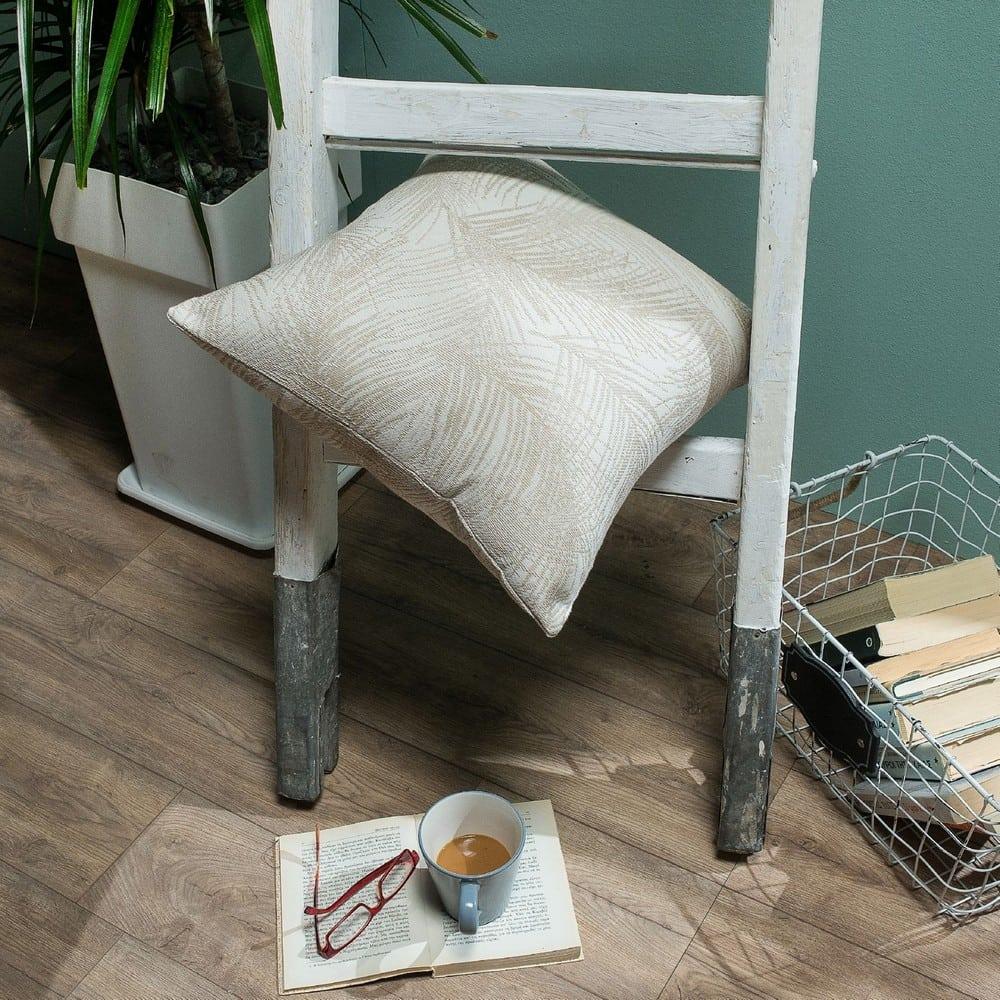Μαξιλάρι Διακοσμητικό (Με Γέμιση) Toscana 01 Ecru Teoran 45X45 Βαμβάκι-Polyester